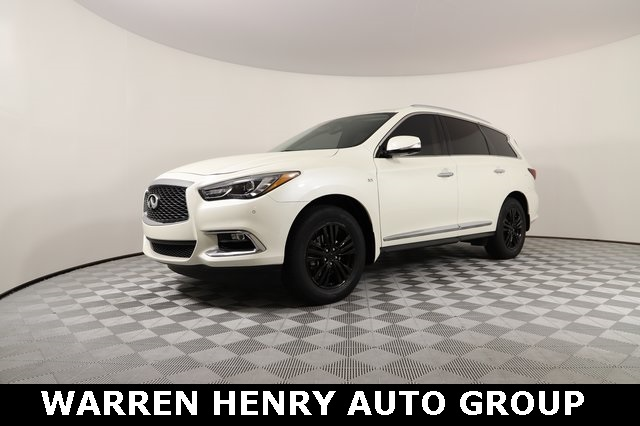 Certified Pre-Owned 2017 INFINITI QX60 Base