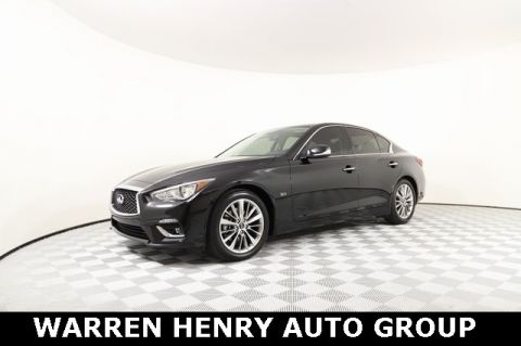 Certified Pre-Owned 2018 INFINITI Q50 3.0t LUXE