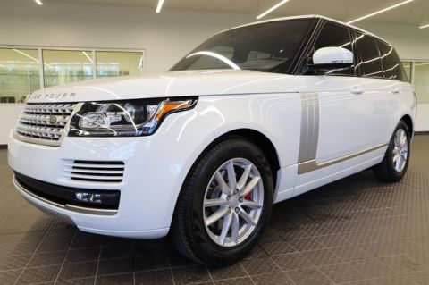 Pre-Owned 2017 Land Rover Range Rover 3.0L V6 Supercharged